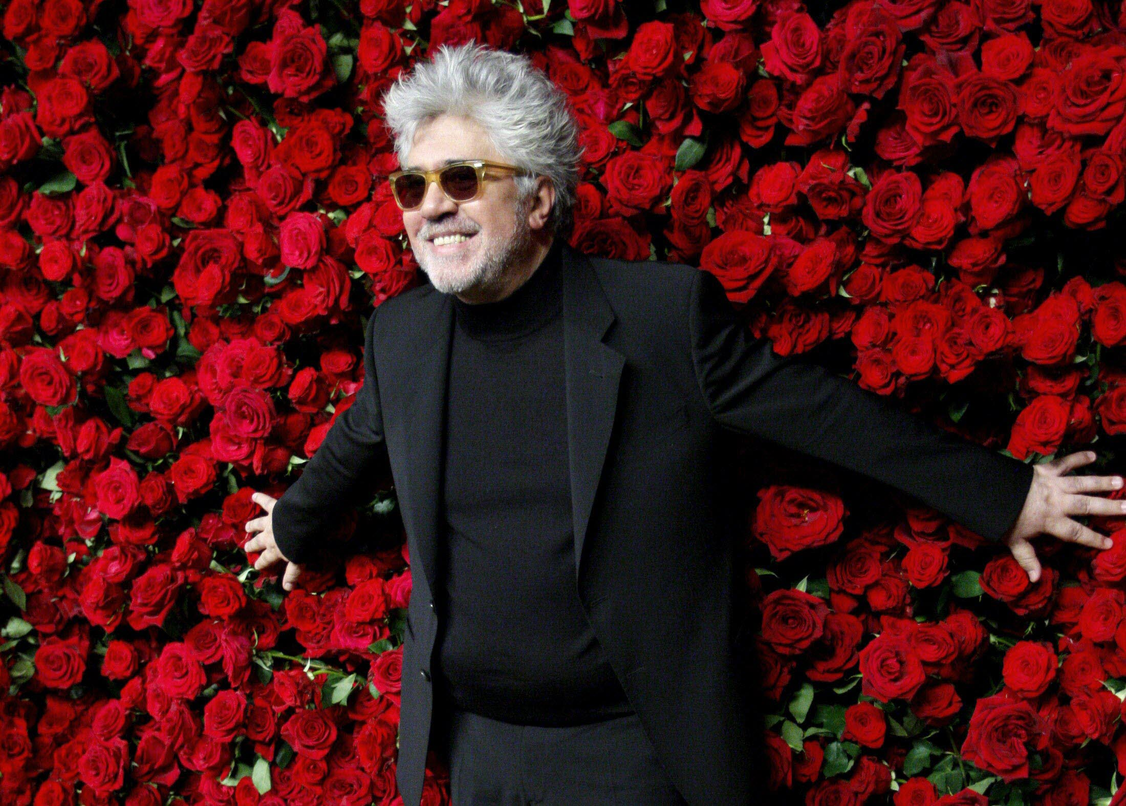 Spanish director Pedro Almodovar attends the Museum of Modern art's fourth annual Film Benefit in New York November 15, 2011. REUTERS/Kena Betancur (UNITED STATES - Tags: ENTERTAINMENT) TELETIPOS_CORREO:%%%,FOTOGRAFÍA,%%%,MUSEUM