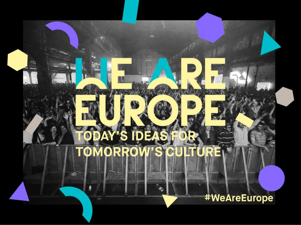 WE ARE EUROPE na RESONATE festivalu!