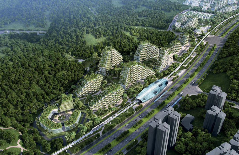 The Liuzhou Forest City