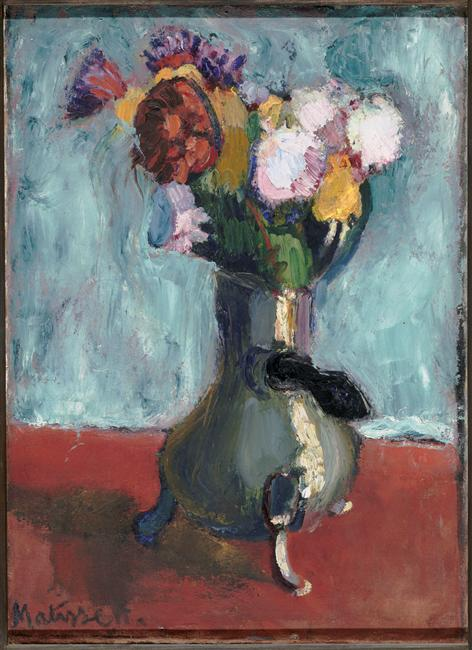 Bouquet of Flowers in a Chocolate Pot, 1902. godina