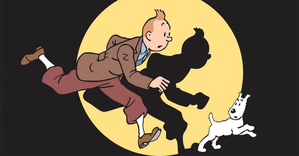Tintin strip