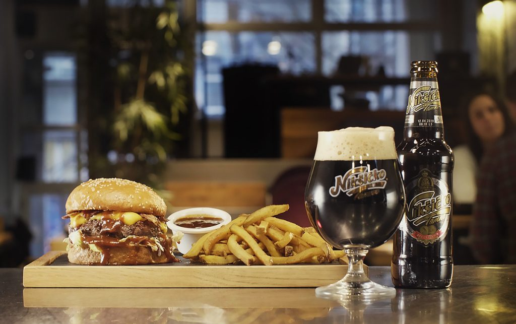 Dark Brewed Burger