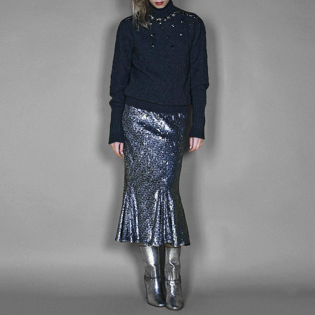 Style Zoom: Disko-suknja na 4 načina