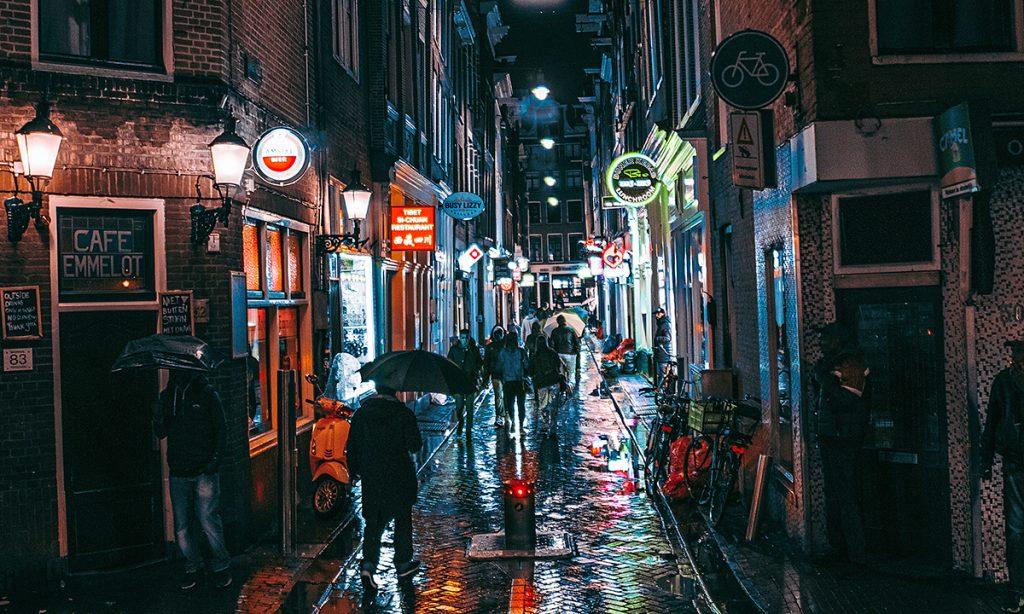 Amsterdam: Pet grama legalnosti