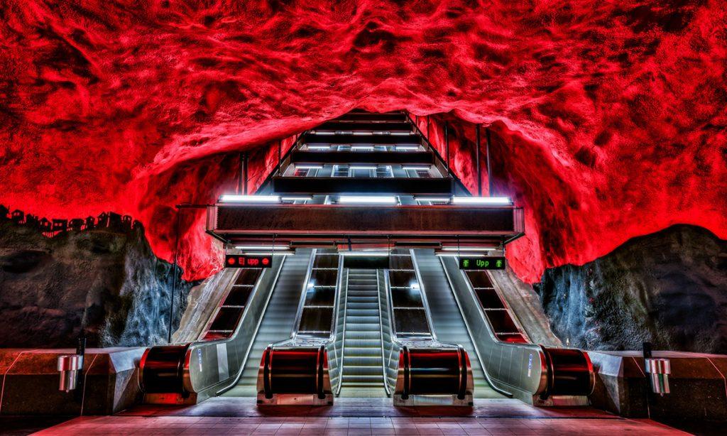 42 sata u Stokholmu: Metro – izložba duga 110 km