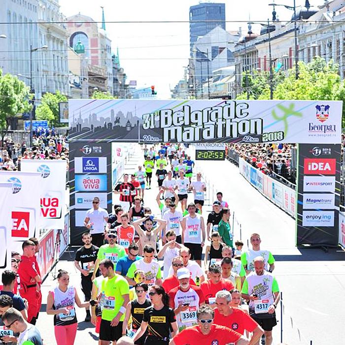 Zašto je 7.300 ljudi trčalo maraton, ne znam, ali ovo je moj odgovor
