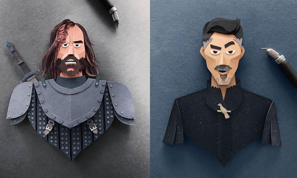 likovi GoT od papira