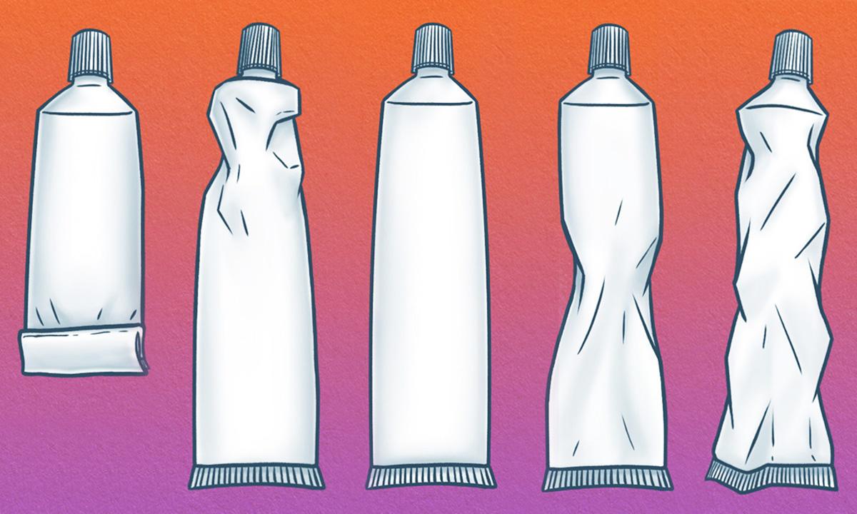 kako cedite tubu paste za zube