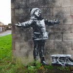 Banksy sneg